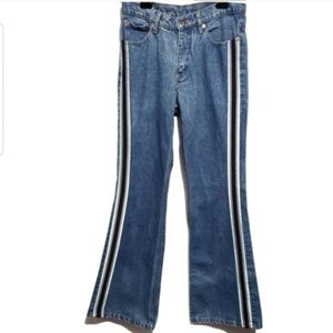 vintage 90s jordache 100% cotton athletic strip